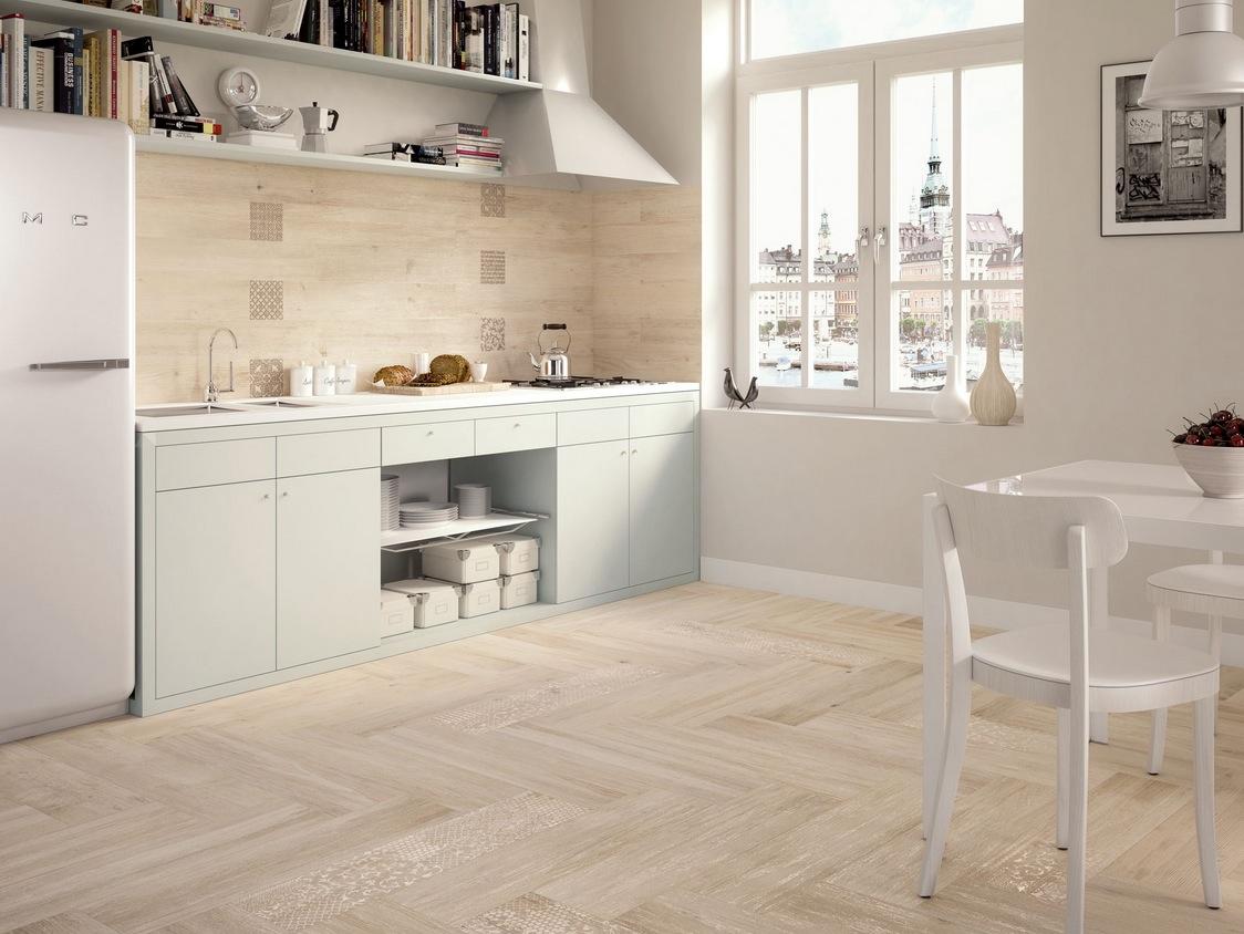 Parquet salle de bain gris clair: cuisine couleur gris idees deco ...