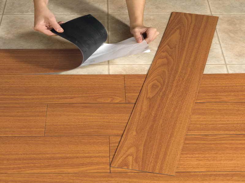 Flooring moore innovations for Hard vinyl floor tiles